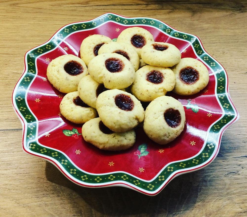 Weihnachtliche Husarenkrapferl Eves Homemade